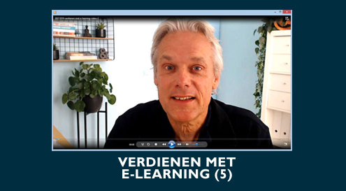 Verdienen Met E-Learning - video 5