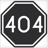 oplossing custom 404 pagina