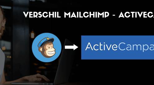 Verchil MailChimp ActiveCampaign